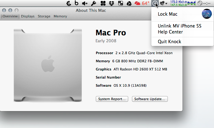 Knock on a 2008 Mac Pro